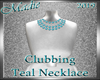 !a Clubbing Neklace Teal