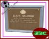 USS Valerie Plaque