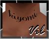 Kiyomi Tattoo