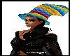 multi diamonds crazy hat