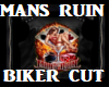 Mans Ruin Bikers Cut