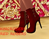 KING RED BOOTIES