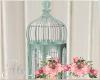 Shabby Birdcage Candles