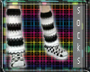 ]T[domino Loose Socks