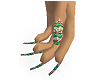 MJs Santa Long Nails
