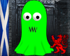 Green Ghost Avatar