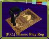 (P.C.) Islamic Pray Rug