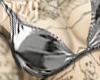 Silver Bikini Top