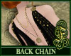 Black Pearl Back Chain