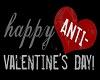 Anti-Valentines Day Sign