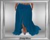 Blue Boho Skirt