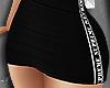 Black preppy skirt