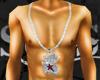 $UL$Red N Wht J Chain