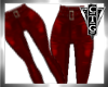 CTG RED LEATHER PANTS RL