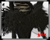 Black Feather Skirt