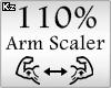 Scaler Arm 110%