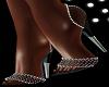 Black Sparkle Heels DVR