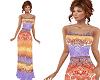 TF* Long Bright Dress
