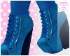 愛 Blue Booties