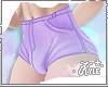 FMB Purple Jean Shorts