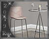 Rus: Blush Bar Table