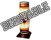 Lampe derivable
