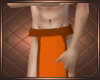 Orange Loincloth short