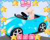 Kids Blue Play Car