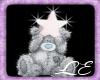 Star Teddy Clip