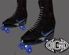 (M)Black Blue  Skate