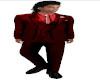 TEF FULL RED SUIT