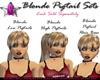 *G* Blonde Pigtail Base