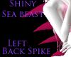 Lback Spike sea beast