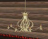 chandeliers gold