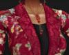 Silk Floral Robe (rls)