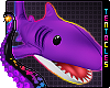 🦈 Shark Plush| Purple