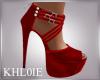 K rita red heels