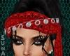 kr red Arabian Headbands