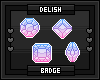 Badge Set ~You're A Gem~
