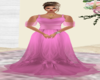 Pink Flowy Gown