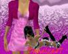 *Dress with Bolero Pink