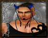 [m] devilish horns blue
