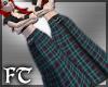 Long Kilted Skirt