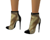 Gold Mesh Boots