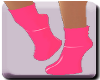 Pink PVC Hoofed No Heel