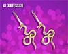 T💜S_Snake Earrings GD