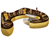 Bronze Gold Sofa