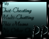 No Chat Cheating Rules