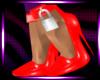 Red Locked Heels