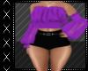 Boho Purple Top